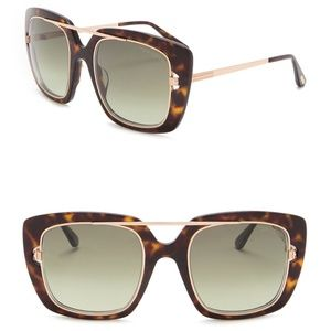 New TOM FORD Marissa Square Sunglasses